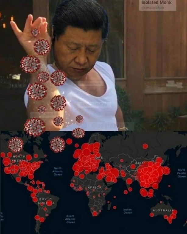 Xi Jinpinch of Corona