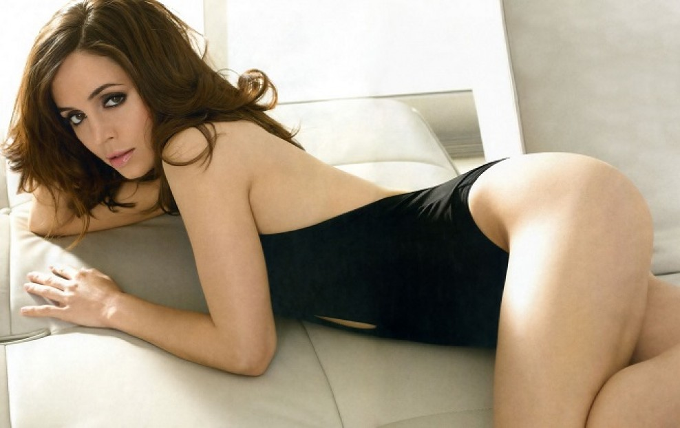 1. Eliza Dushku (Black Widow)
