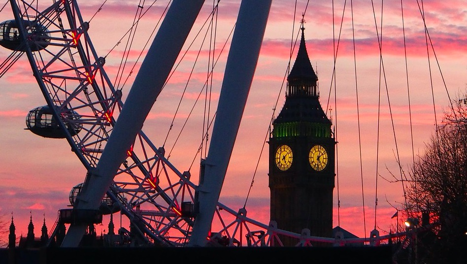 1. Londen - 119.900.000 tags