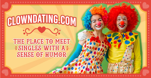 gekke clown dating Dating rijke weduwen